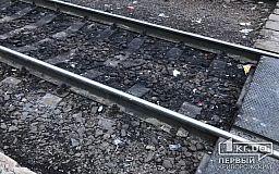На территории АрселорМиттал Кривой Рог обнаружили труп мужчины на железной дороге