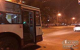 График движения троллейбусного маршрута №3 в городе Кривой Рог
