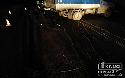 Фото 18+ Перебегая дорогу, недалеко от Кривого Рога погибла пешеход