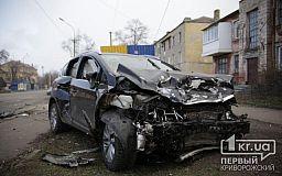 Трое пострадавших в результате ДТП в Кривом Роге