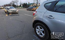 Тройное ДТП в Кривом Роге: столкнулись два Daewoo и Nissan