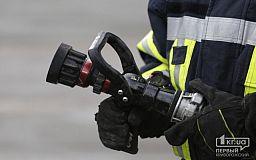 Чрезвычайники спасли криворожанина из горящего заброшенного здания