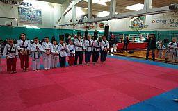 Криворожане стали чемпионами Днепропетровской области по тхэквондо