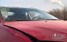 ДТП в Кривом Роге: Mazda вылетела на обочину и перевернулась