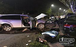 Криворожанка погибла в результате лобового столкновения авто
