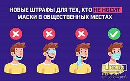 Новые штрафы для тех, кто не носит маски в общественных местах