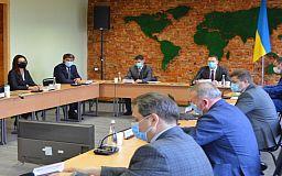 Представители вузов и Министерства образования и науки Украины обсудили концепцию создания ТехноHUBа в Кривом Роге