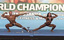 Золото и бронзу завоевала криворожанка на чемпионате мира по бодибилдингу и фитнесу