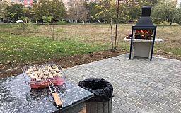 При поддержке «Зеленого центра Метинвест» в Долгинцевском районе Кривого Рога жители обустроили парк для пикников