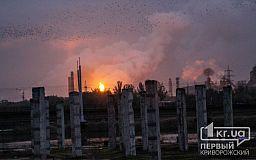 В октябре концентрации пыли и аммиака в воздухе Кривого Рога превышали допустимые нормы