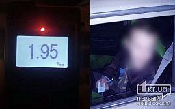 Пьяного водителя ВАЗа остановили патрульные