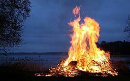 Що робити, коли побачив вогнище з опалого листя