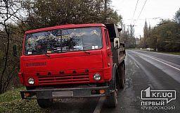 Патрульные остановили КАМАЗ, груженный металлоломом без документов