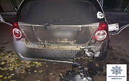 Ночью в Кривом Роге подожгли машину