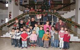 На День Святого Николая криворожским детям-сиротам и детям-инвалидам устроили настоящий праздник