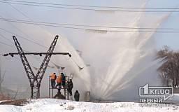 Авария по улице Песочная – прорвало трубопровод