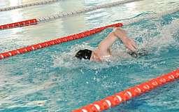 В Кривом Роге состоялись зимние спортивные игры по плаванию среди школьников