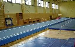 В Кривом Роге прошел чемпионат города по прыжкам на акробатической дорожке
