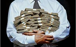 На Днепропетровщине уже 5 человек признались, что в прошлом году они были миллионерами
