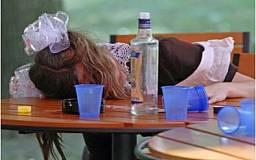 Криворожские школьницы отметили 8 марта массовыми запоями и алкогольными отравлениями