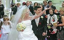 Сегодня в Кривом Роге настоящий свадебный бум!