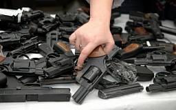 В Днепропетровской области проходит месячник добровольной сдачи оружия