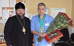 Криворожский ведущий врач сосудистой хирургии награжден орденом УПЦ