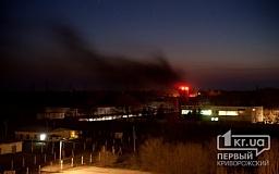 В Кривом Роге в воинской части загорелись танки с полным боекомплектом (ОБНОВЛЕНО)