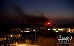 В Минобороны допускают диверсию или саботаж как причину пожара в воинской части в Кривом Роге