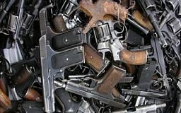 В Днепропетровской области было проведено очередное плановое уничтожение изъятого, добровольно сданного и найденного оружия