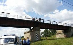 Приднепровская железная дорога отстроила мост, взорванный террористами