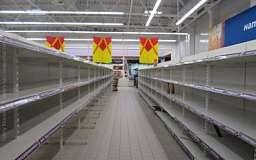 В Крыму временно сняли запрет на украинские товары, чтобы наполнить полки магазинов