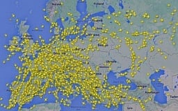 Теперь все самолеты облетают Украину (КАРТА)