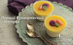 «Первый Криворожский Завтрак». Овсянка с яблоками и мандаринами