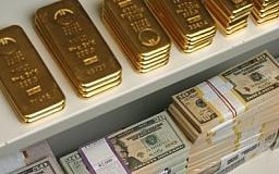 Золотовалютные резервы Украины на уровне 2004 года