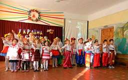 В школе Криворожского района прошел благотворительный концерт в поддержку воинов АТО