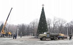 Завтра откроется главный елочный городок Кривого Рога