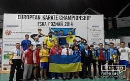 Криворожанин завоевал третье место на Чемпионате Европы по традиционному каратэ