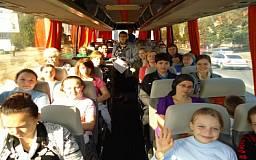 Дети-сироты, перехваченные террористами, уже разместились в криворожском лагере