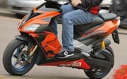 В Кривом Роге грабители отобрали у мужчины скутер прямо на перекрестке