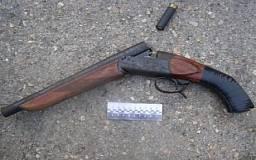 Криворожанин оставил своему знакомому на хранение охотничий обрез, а тот отнес оружие в милицию