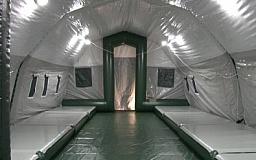 У спасателей Днепропетровщины появился многофункциональный модульный комплекс для помощи в чрезвычайных ситуациях