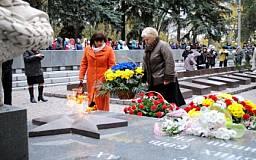 К 70-й годовщине освобождения Украины открыт обновленный мемориал