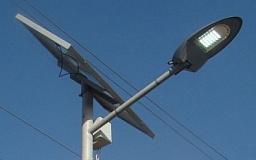 В селе под Кривым Рогом улицы освещают солнечные модули