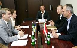 Австрия заинтересована в укреплении экономических связей с Днепропетровщиной