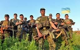 Украинская армия готовится к зиме. Солдат снабжают теплыми вещами
