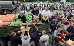 Днепропетровщина каждый день отправляет на восток порядка 1,5 тонны продуктов