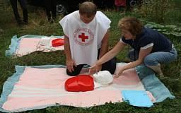 В областном обществе Красного Креста можно научиться оказывать первую доврачебную помощь