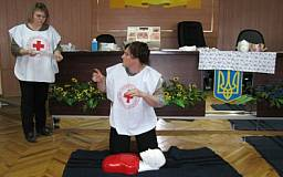 В Днепропетровской области сформирован спасательный отряд быстрого реагирования Красного Креста