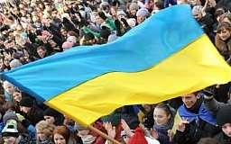 В Донецке и Луганске прошли митинги за единую страну
